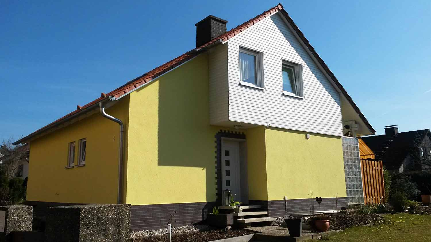 Contracting Referenz Einfamilienhaus Bayreuth
